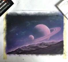 Воображение художника безгранично. А картины David Ambarzumjan - 17-летнего художника, просто космос! https://goo.gl/ux5Eh0