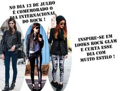 Dia Internacional do Rock: Inpiração Rock Glam http://tempodemoda.com.br/blog/2013/07/13/dia-internacional-do-rock-inpiracao-rock-glam/