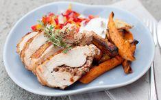 Feta, Pork, Food And Drink, Turkey, Kale Stir Fry, Turkey Country, Pork Chops