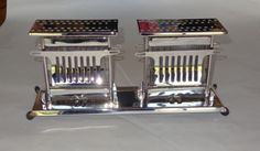 Vintage Royal Rochester Art Deco Toaster,E941 UNIVERSAL LANDERS, FRARY & CLARK