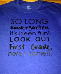 Last Day of School Shirt End Of School Graduation by MissyLuLus