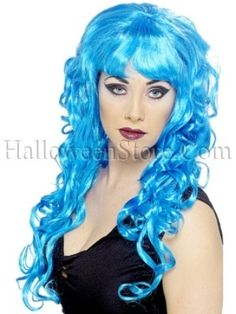 Wig I just ordered for my BRD boutfit... a subtle tribute in BRD blue.