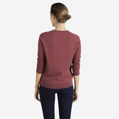 The Women s Cashmere Crew - Rose - Everlane Sweaters For Women 056a3720bb