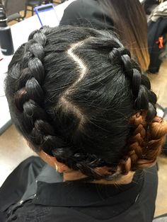 Braids done by Sharon