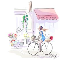 illustration magalie F velo paris.jpg - Magalie F   Virginie