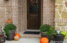 How To Decorate a Tiny Porch