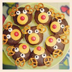 Deer cupcakes
