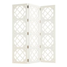 Dahlia Room Divider - I'd paint this different colors and then it would be perfect!