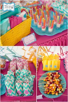 Colbys party food ideas