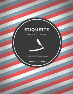 Etiquette Shaving Cream Logo