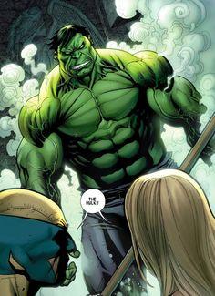 savage wolverine 4 Hulk last page Comic Book Characters, Comic Book Heroes, Marvel Characters, Comic Character, Comic Books Art, Comic Art, Comic Superheroes, Marvel Comics Art, Hulk Marvel