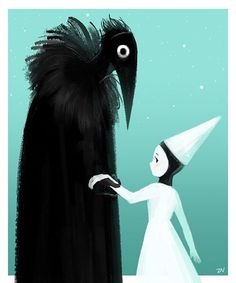 Ida and Crow (Monument Valley)