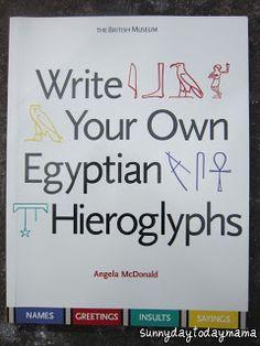 sunnydaytodaymama: 15 books about Egypt for children