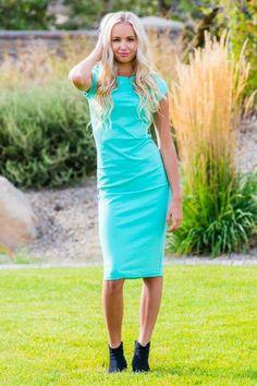 Knee Length Tee Dress