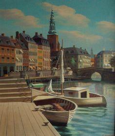 Frederik Wilhelm Svendsen (1885-1975): Copenhagen Scenery
