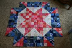 Welcome back to the Scrappy Swoon-along! Today we'll tackle sections 5 and 6. Section 5 This is a simple patchwork section which will come together quickly. For section 5 you'll need 72 – 3.5 inch squares of your secondary color. Each block will require 18 squares, laid out in three rows of six squares each as seen below: Piece the [...]