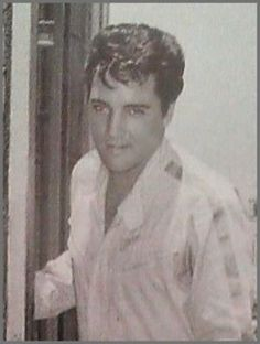 """Close up of Elvis Presley (aka NASCAR race car driver Steve Grayson) on the set of SPEEDWAY - (June - August) 1967 