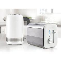 Buy Breville VTT686 High Gloss 2-Slice Toaster, White Online at johnlewis.com