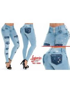 Vaquero Levanta Cola 11103 Skinny Jeans, Nail Nail, Color Azul, Html, Pants, Outfits, Fashion, Flare Leg Jeans, Women's Jeans