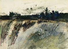 Waldboro Woods, Andrew Wyeth, 1947