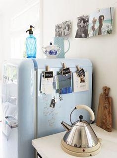 luv the blue fridge
