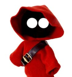 I made this Jawa rod puppet many, many years ago. It remains a favourite.