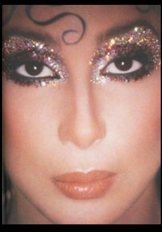 Cher makeup look inspiration for Pride