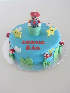 Emmas KakeDesign: Super Mario kake