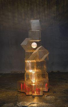 Ingo Maurer 'MOON OVER CUBA' FLOOR LIGHT, 2007