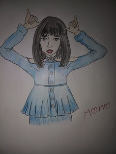 Dance queen of twice momo chan