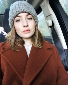 """Took a selfie today which is quite unlike me! In other news, there is a new What's In My Bag video on my channel, which I filmed in a slightly different way to usual! Link in my bio, or search """"lizzyhadfield"""" on YouTube! 👋🏻"""