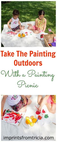 Imprints From Tricia : Painting Picnic