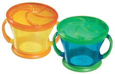 Munchkin Two Snack Catchers, Colors May Vary: Amazon.co.uk: Baby