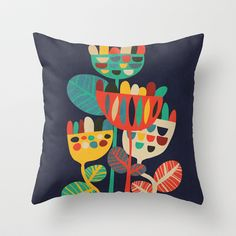 Buy Wild Flowers by Budi Satria Kwan as a high quality Throw Pillow. Worldwide shipping available at Society6.com. Just one of millions of products…