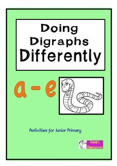 Doing Digraphs Differently 'a-e' concentrates on the digraph family in order to achieve a comprehensive understanding of the spelling family.