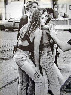 Vogue Shoot 90s Behind the Scenes