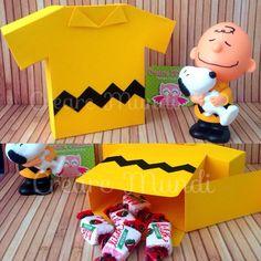 Caixinha Camiseta Charlie Brown Encomendas: crearemundi@gmail.com…