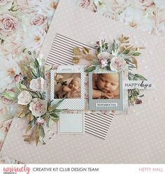 Baby Scrapbook Pages, Club Design, Specialty Paper, Scrapbooking Layouts, Instagram Accounts, Baby Love, Frame, Creative, Projects