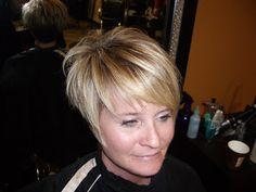 Style them FaBuLoUs!: high layered a-line with tapered back