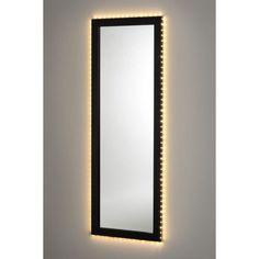 Spegel Teo 140x50 cm Svart - Speglar - Rusta, 349 kr