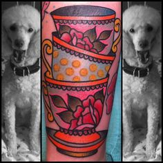 @Ashley Walters teacup tattoo
