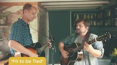 NPR Music Tiny House Concert with Tom Brosseau and Sean Watkins