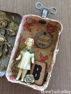 One Lucky Day: Little Things (idea-ology Salvaged Doll)