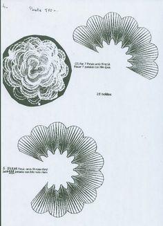 Resultado de imagen de picados de flores de bolillos gratis