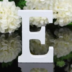 Free Standing Home Decoration Wooden Letter Alphabet