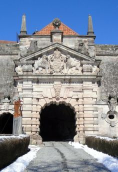 Eingangsportal der Festung Rosenberg in Kronach - **  Entrance portal of fortress Rosenberg, Kronach