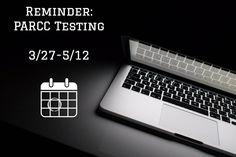 PARCC Testing begins next week district wide.