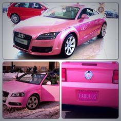 pink car i want