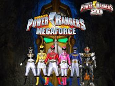 Power Rangers 20- Megaforce by ThePeoplesLima on @DeviantArt