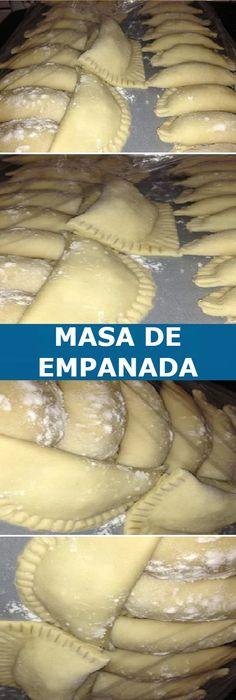 💠 Empanadas caseiras, a melhor massa do mundo↗️ - Nutrición - Mexican Food Recipes, Dessert Recipes, Beef Empanadas, Fried Pies, Pan Dulce, Cooking Recipes, Healthy Recipes, Latin Food, Sweet Desserts